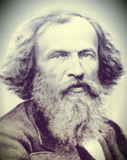 Dmitri Ivanovich Mendeleev, formulated the Periodic Law