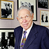 Glenn T. Seaborg, proposed last major change to periodic table.